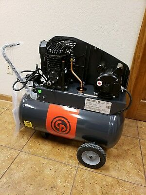 NEW Chicago Pneumatic Reciprocating Compressor 2HP, 1-Phase