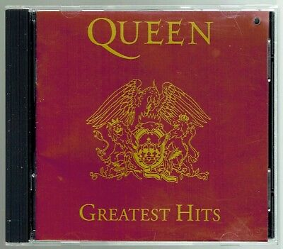 QUEEN - Greatest Hits - CD - 1992 -  Hollywood Records - 17 songs