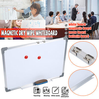 Large Office School Home Magnetic Whiteboard Dry Wipe Drawing Board Small Medium