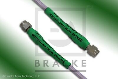 40 GHz Precision 2.9mm Male Cable Assembly BRACKE BM95023.6 6 Inches