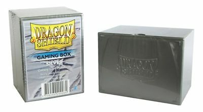 Dragon Shield: Deck Box - Silver New Deck Boxes