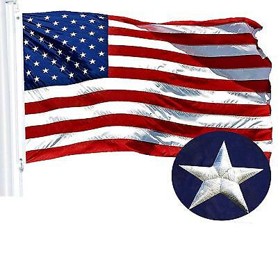 2'x3' ft, American Flag US USA | EMBROIDERED Stars, Sewn Stripes, Brass Grommets