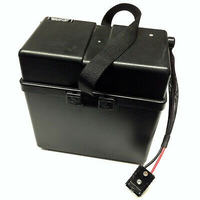 Battery Box Used Invacare 1097007 Rear Assembly Without Batteries Nutron Series