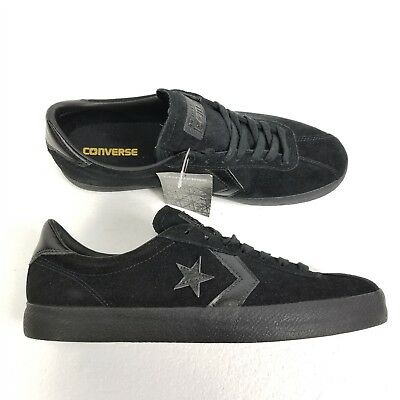 28cda2b067f383 Converse Cons Break Point Mono Suede Ox Shoes Sz 11 Black Leather Skate  153988C