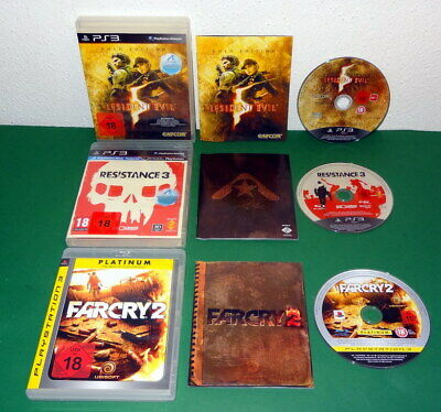 3 Spiele: Resistance 3, Resident Evil 5 Gold u Call of Duty MW 3 PS3 Playstation
