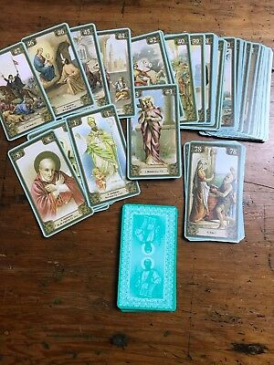 Voices of Saints Oracle Cards 78 Card Divination Deck Lo Scarabeo