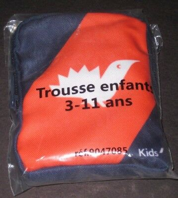 NEW AIR FRANCE PREMIUM ECONOMY kids amenity bag toiletry games travel pouch L@@K