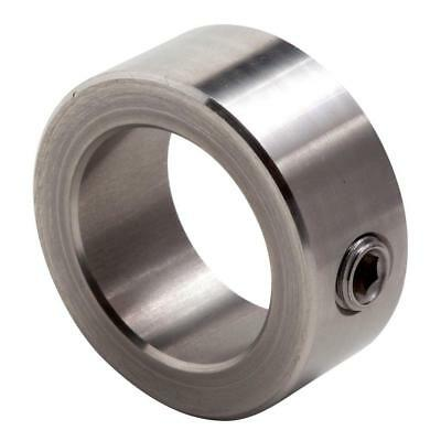 CLIMAX C-031-S, 303 Stainless Steel Shaft Collar, Set Screw, 5/16 In Bore dia.