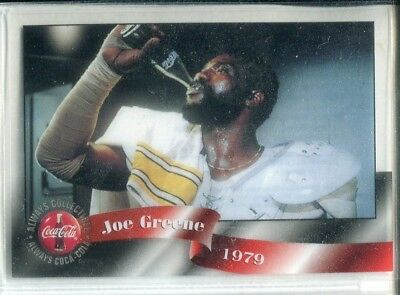 1996 Coca-Cola Sprint Cel Phone Cards #1 Joe Greene