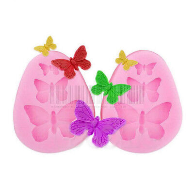 Fly Butterfly Chocolate Candy Cake Silicone Mold Baking Bakeware DIY Tool Mould