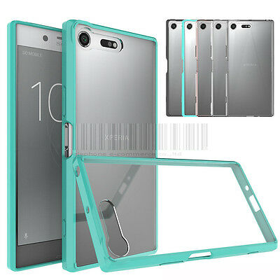 Slim Hybrid Clear TPU Case Shockproof Bumper Cover For Sony Xperia XZ Premium