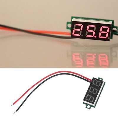 "0.28"" LED Digital Display Thermometer Module for DS18B20 Temperature Sensor RED"