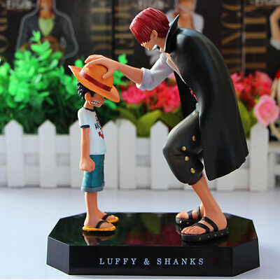 AU Stock Anime Manga One Piece MEMORIES Statue LUFFY & SHANKS PVC Figure in Box