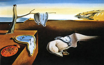 Salvador Dali The Persistence of Memory Art Silk Poster 8x12 24x36 24x43