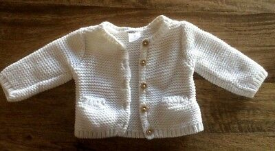 Carters Girl Cardigan  Size 3 Months