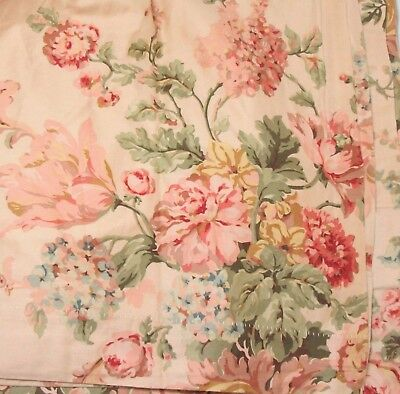 Ralph Lauren Sussex Gardens Floral 2-Piece 80 x 84 Lined Drapery Panel Set