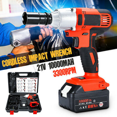 """1/2"""" Electric Impact Wrench Gun Torque Tool W/ Stepless Speed Switch HEAVY DUTY"""