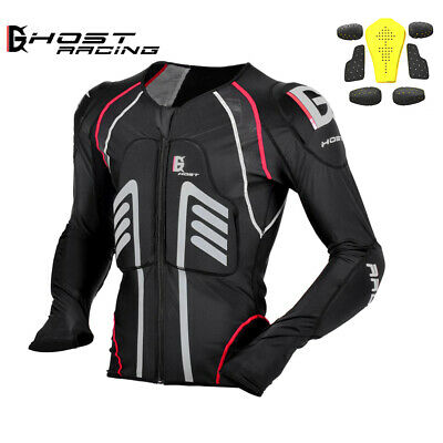Motorcycle Armour Jacket OFF Road Motocross Racing Bike+Removable Protectors