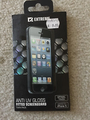 Extreme Anti UV ScreenGuard twin pack for iPhone 5
