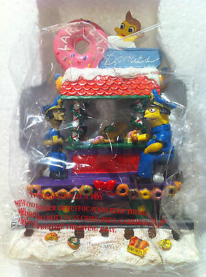 Simpsons Hamilton Sculpture Lard Lad For The Holiday Christmas Train Rare Figure