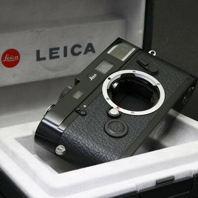 Leica M 72 Lhsa Special Edition Black Paint Near Mint