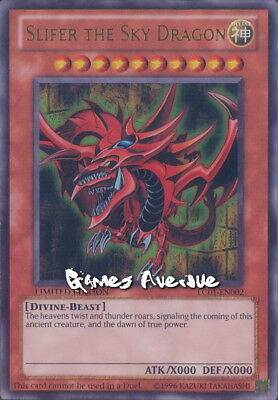 Yu-Gi-Oh ! Slifer the Sky Dragon (Dieu Egyptien) LC01-EN002 US/ULTRA RARE