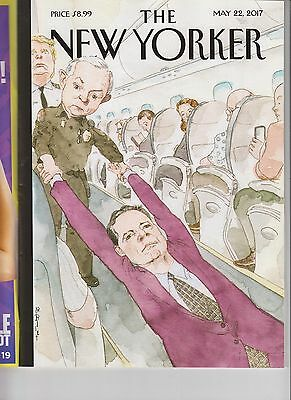 Donald Trump James Comey The New Yorker Magazine May 22 2017 No Label Ejected