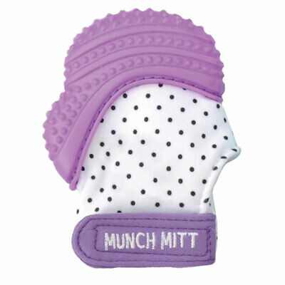 Malarkey Munch Mitt Teething Mitten Purple