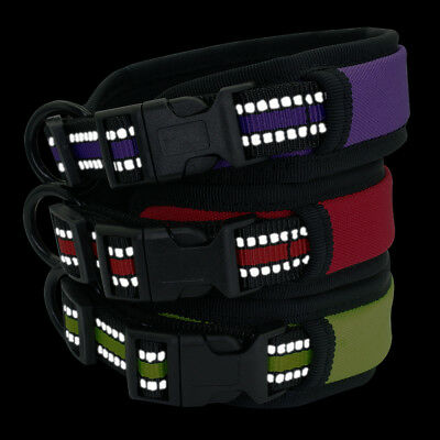 Dog Collar for Small Medium Large Dogs Soft Padded Reflective Training Collars