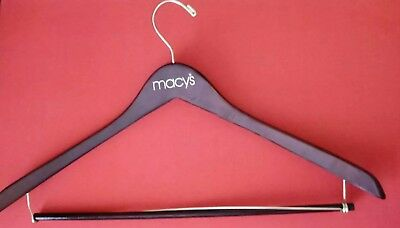Vintage Wooden  Hanger  MARKED MACY'S