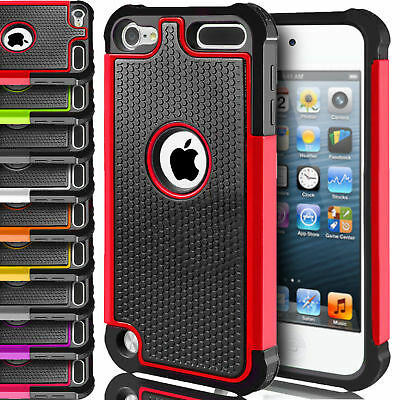 Shockproof Builders Heavy Duty Hybrid Rugged Case Cover for Apple iPod Touch 6