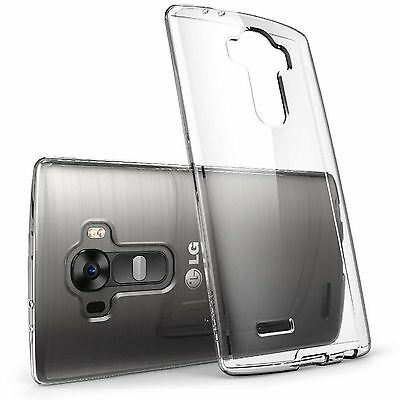 Slim Clear Transparent Soft TPU Silicone Back Case Shell Skin For LG G4