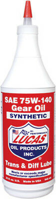 Lucas Oil Lucas Synthetic Gear and Transmission Oil 75W-140 Quart 10121 53-2163