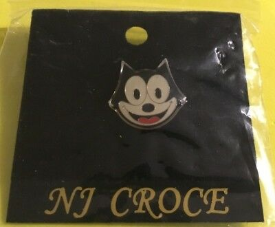 FELIX The CAT Hat / Lapel Pin Classic Small Felix Face
