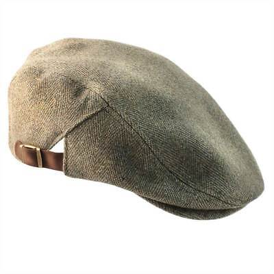 Graywood Adjustable Derby Tweed Cap