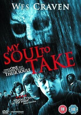 My Soul To Take DVD Region 2 Horror *New & Sealed* Wes Craven
