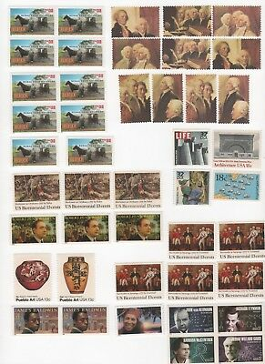 Discount Postage Stamps Enough to Mail 22 One Ounce Letters - Face Value $12.10
