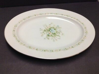 Noritake Poetry Platter 11 1/2 Inch  Oval Floral China