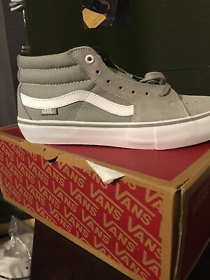 cca89cc62b37 Vans SK8-Mid Pro Drizzle White Sneakers VN0A347ULUY New DS Men s 9 Women s  10.5