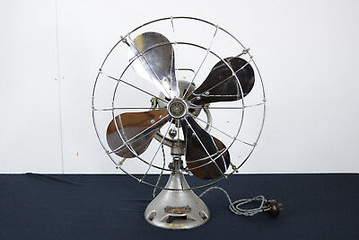 "Vintage 1930s Veritys Orbit Fan 200V - Rare 16"" Model - Made In England"