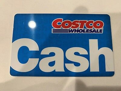 $100 to $1000 Costco Cash Card - Direct from Costco.com - Free Shipping