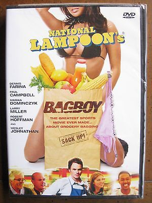 National Lampoon's Bagboy (Dvd, 2008) Dennis Farina - Brand New, Factory Sealed!