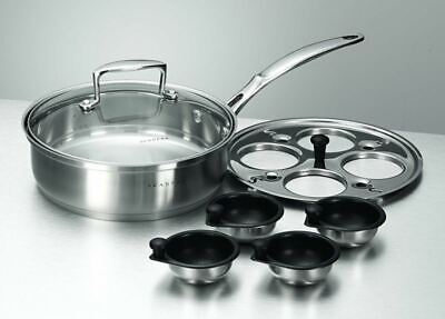 Scanpan - Satin<br>Egg Poaching Set 20cm