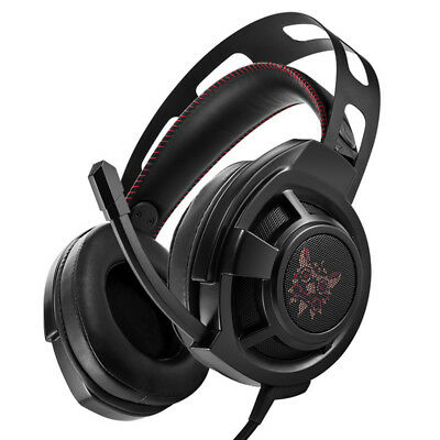 3X(ONIKUMA M190 PC Gamer Headset Over Ear Best Gaming Headphones with Micro E2S9