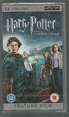 HARRY POTTER AND THE GOBLET OF FIRE - sealed/new - UK PSP UMD VIDEO