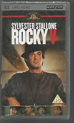 ROCKY V - sealed/new - UK PSP UMD VIDEO - ROCKY 5