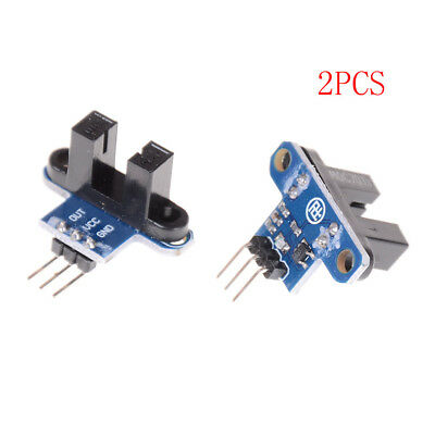 2X Ir Infrared Slotted Optical Speed Test Sensor Detection Optocoupler Module GS