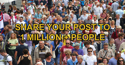 I Will Promote Your Business Or Product to 1,000,000 People On Facebook