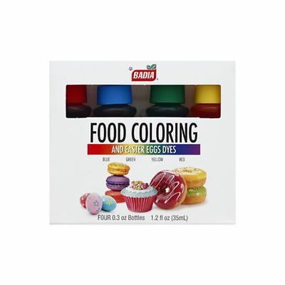 Badia Food Coloring And Easter Eggs Dyes - 35ml (1.2 fl oz)