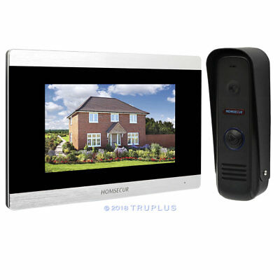 HOMSECUR Video Door Entry Security Intercom with Auto/Manual Recording Snapshot